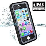 Waterproof Case Iphone 5 5S 5SE, Besinpo Underwater Full Body protection Cases Drop Proof Cover Fully Supports Finger Print Function For Iphone 5/5S/SE