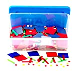 Learning Resources Magnetic Algebra Tiles (Packaging May Vary)