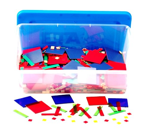 Learning Resources Magnetic Algebra Tiles, 72 Piece Set, Ages 11+ (Packaging May Vary)