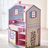 Olivia's Little World - Unicorn Wooden Nursery Center Dollhouse for Baby Dolls