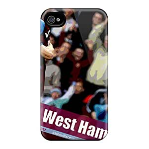 Durable Protector Cases Covers With The Fc Of England Aston Villa Hot Design For Case Iphone 4/4S Cover