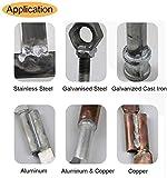 Elecxlink Copper Aluminum Welding Rods, 20-Pack