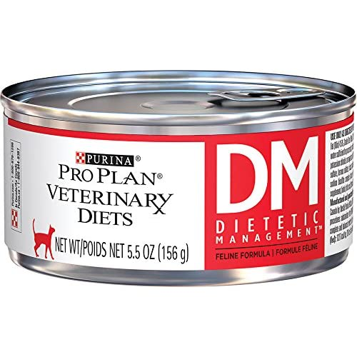 Purina Veterinary Diets Feline DM Dietetic Management Canned Cat Food 24 5.5-oz cans by Purina [Pet Supplies]