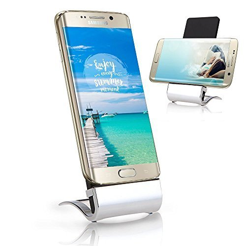 iRULU Qi Wireless Charger Pad Vertical Dock Stand For Samsung Galaxy S6 /S6 Edge/S7 and other QI-Enabled Devices