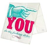 Sourpuss Dishes Tea Towel
