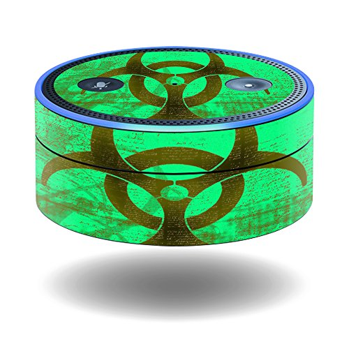 Mightyskins Protective Vinyl Skin Decal For Amazon Echo Dot  1St Generation  Wrap Cover Sticker Skins Biohazard
