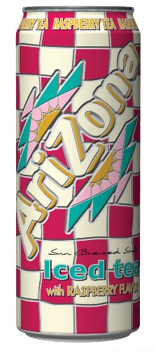 Arizona Raspberry Tea, 23-Ounces (Pack Of 24)