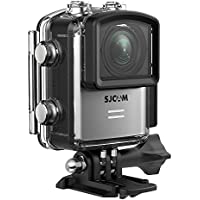 SJCAM M20 4K Wifi Action Camera 16MP Sony Sensor Mini Waterproof Underwater Camera, 2.4G Remote Control Sports Camcorder Gyro Stabilization - Silver