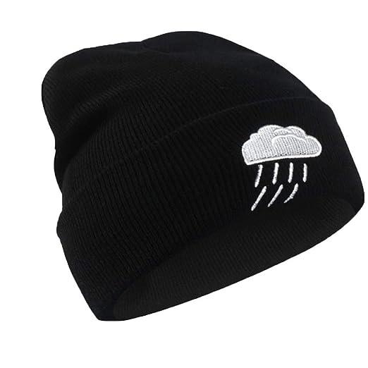 HDSOIHI Sombrero de Bordado de Invierno Mujeres Hombres Patrón de ...