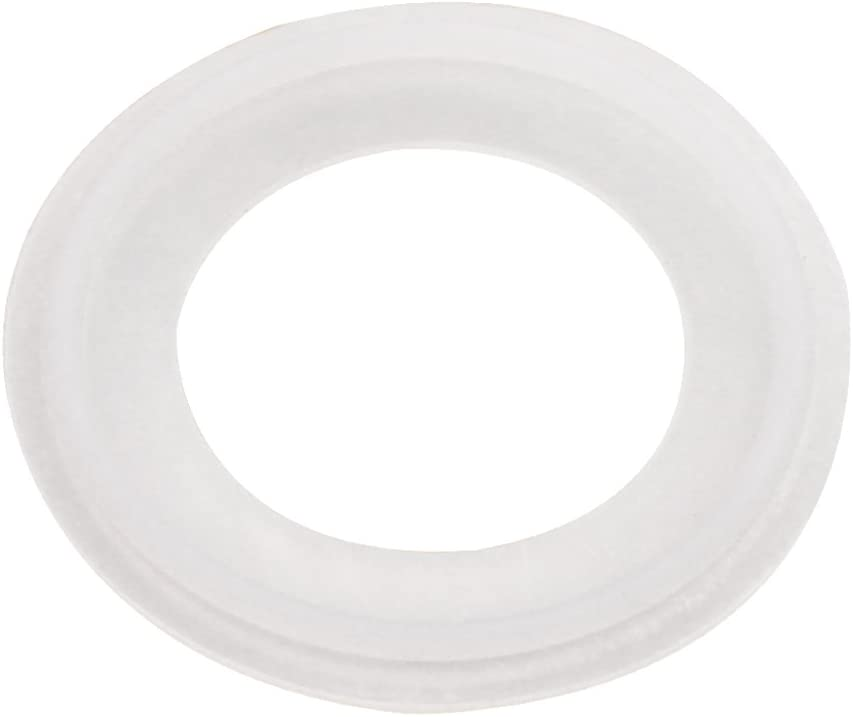 DERNORD Silicone Gasket Tri-clover (Tri-clamp) O-Ring - 4 Inch ( Pack of 1 )