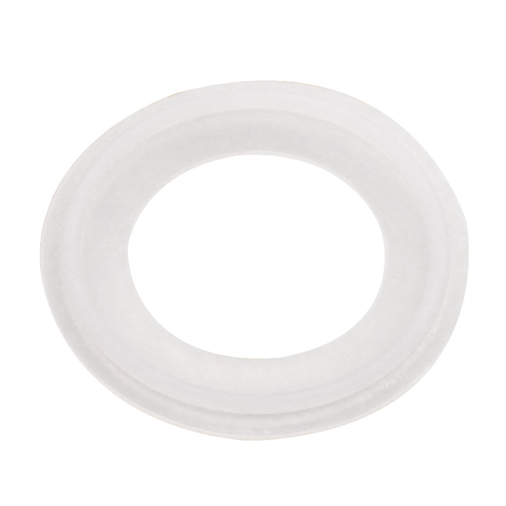 Dernord Silicone Gasket Tri-Clover (Tri-clamp) O-Ring - 4 Inch (Pack of 5)