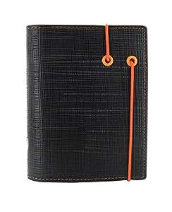 Filofax Pocket Apex - Agenda de anillas, color negro