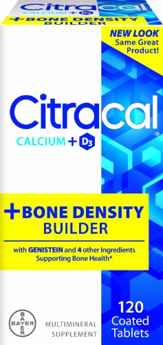 Citracal plus d'os de calcium et de vitamine Builder Densité comprimés enrobés D, 120-Count Bottle