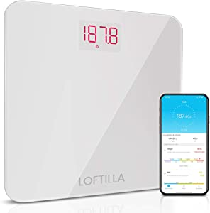 Loftilla Bathroom Scale for Body Weight BMI Scale