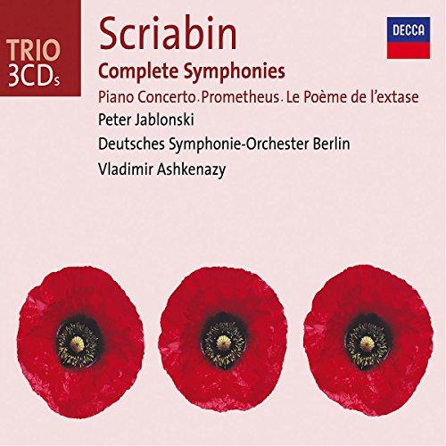 Scriabin: Complete Symphonies / Piano Concerto / Prometheus / Le Poeme de l'extase