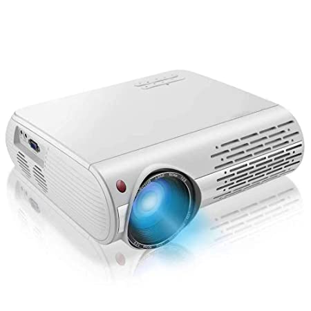 AI LIFE Proyector 1080p 16000 Lux 4K Proyector de Video con ...