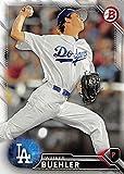 Walker Buehler Baseball Card (Los Angeles Dodgers) 2016 Topps Bowman #BP78 Rookie