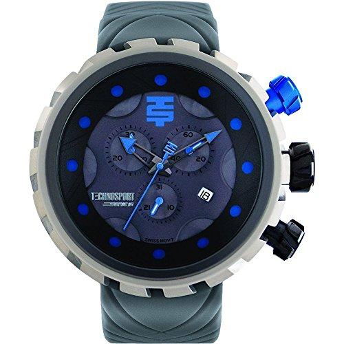 TechnoSport Men's Chrono Watch - BOLD silver