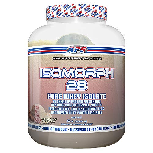 APS Nutrition IsoMorph, AAA-rated Pure/Highest Quality Whey Isolate Protein Supplement, Neapolitan, 5 Pound