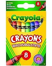 Crayola 114574 gekleurde kleurpotloden (8 Pack)