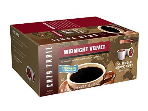 Caza Trail Coffee, Midnight Velvet, 56 Single Serve Cups