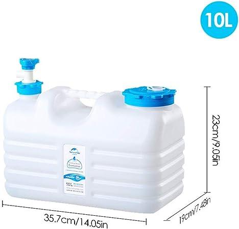 R/éservoir deau Conteneur en PE Plastique f/êtes Camping Beatie Pliable Jerrican Alimentaire avec Robinet 10L S/écurit/é /Épaissi Water Carrier pour Auto-Conduite Voiture