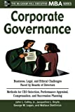 img - for Corporate Governance (Executive MBA Series) book / textbook / text book