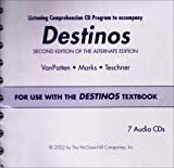Destinos Listening Comprehension CD Program, VanPatten and VanPatten, 0072562560