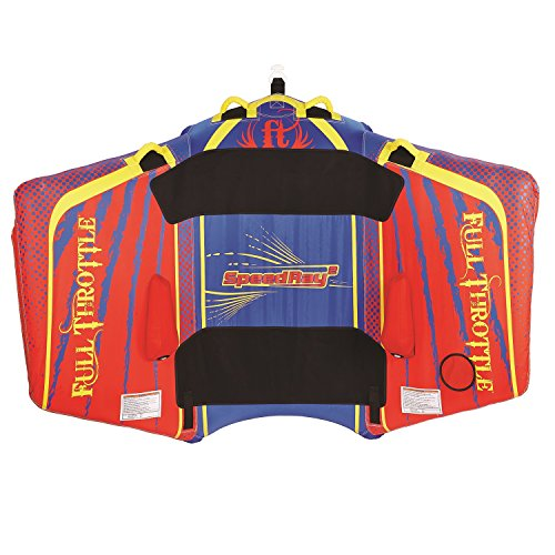 Full Throttle Speed Ray 2 - 1 To 2 Riders - Red/Blue