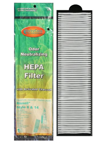 Bissell Style 8, 14 Pleated Post Motor Filter, 3910 Series (3 Pack) (Bissell Vacuum Powerclean compare prices)