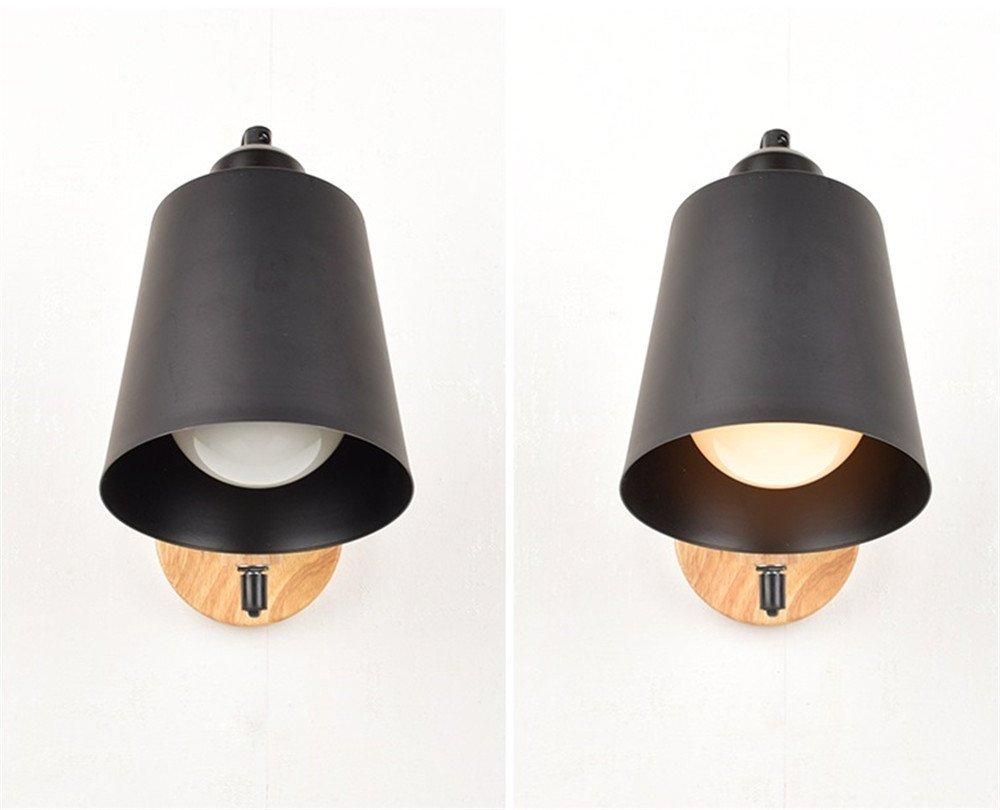 Applique con lampada da lettura illuminazione camera da letto u