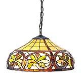 1908 Studios Sunrise Tiffany Hanging Lamp