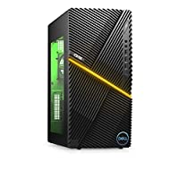 New Dell G5 Gaming Desktop, Intel Core i5-10th Gen, Nvidia GeForce GTX 1660 Super 4GB GDDR6, 256GB SSD +1TB SATA, 8GB RAM, Black (i5000-5378BLK-PUS)