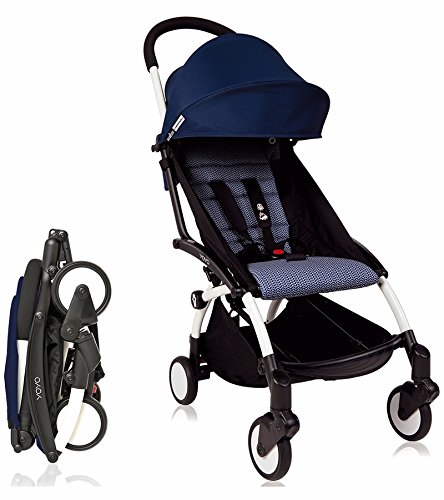 Babyzen Yoyo+ 6+ Stroller - White Frame  (Air France Navy)