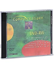 Compucessory CCS35561 DVD-RW, 4.7GB, 2X Recording Speed, W/Branded Surface