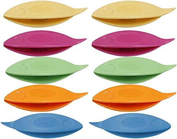 SUPVOX Lot de 10 Accessoires pour Aiguilles /à Tricoter Transparent