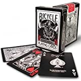 (US) Bicycle Black Tiger Deck Playing Cards by Ellusionist - Red Pip