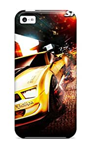 Josie Blaser's Shop Iphone Case - Tpu Case Protective For Iphone 5c- Spilt Second Pc Game