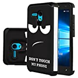 """Jitterbug Smart (5.5inch) Case, Harryshell Shock Absorption Drop Protection Hybrid Dual Layer Armor Defender Protective Case Cover for Jitterbug Smart Easy-to-Use 5.5"""" (C-4)"""