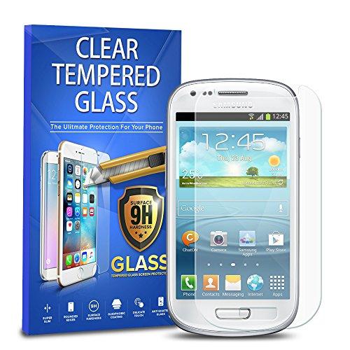 Samsung Galaxy S3 Mini Tempered Glass, 1-Pack Premium Tempered Glass Screen Protector For Samsung Galaxy S3 Mini