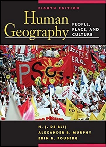 Wiley: human geography: people, place, and culture.