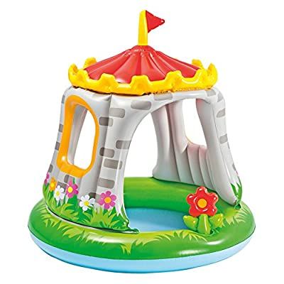 """Intex Royal Castle Baby Pool, 48"""" x 48"""", for Ages 1-3: Toys & Games"""