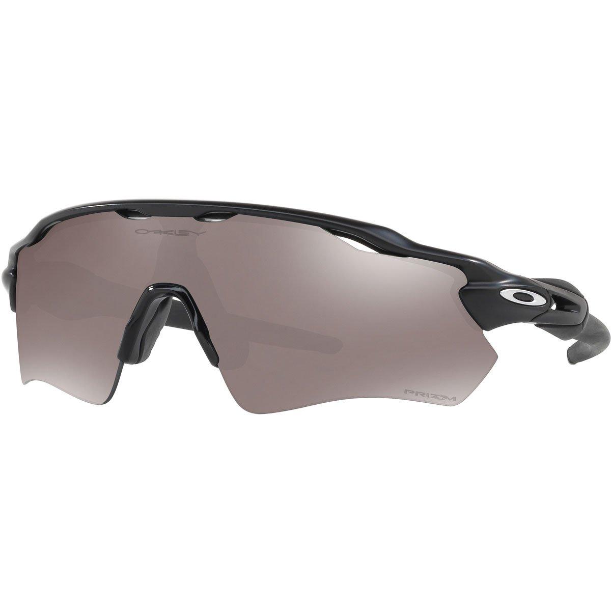 Oakley Men's OO9208 Radar EV Path Shield Sunglasses, Matte Black/Prizm Black Polarized, 38 mm by Oakley