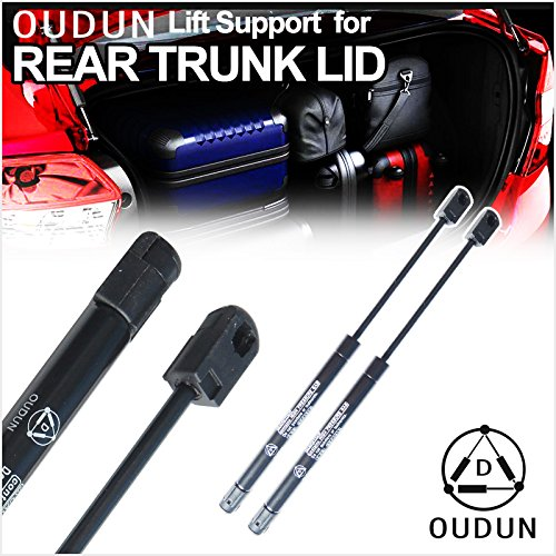 VIOJI 2pcs Rear Trunk Lid Charged Lift Support Struts Shock Gas Spring Fit Chrysler 1999-2001 LHS 1998-2004 Concorde