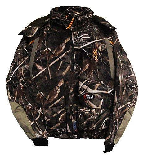 Browning Dirty Bird Insulated Wader Jacket, Realtree Max-5, 3X-Large