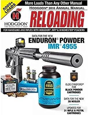 Amazon com : Hodgdon Powder Hodgdon Reloading Manual
