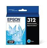 Epson T312220 Claria Photo HD Cyan Standard Capacity Cartridge Ink