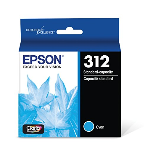 Epson T312220 Claria Photo HD Cyan Standard Capacity Cartridge Ink by Epson
