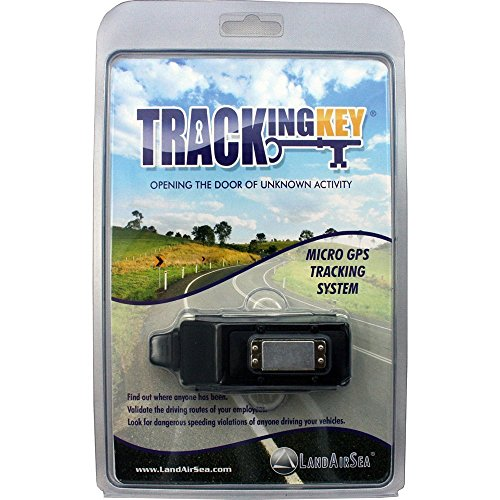 LandAirSea Tracking Key 2 Magnetic Passive GPS Tracker for Personal Vehicle and Asset Location Tracking - No Monthly Fees