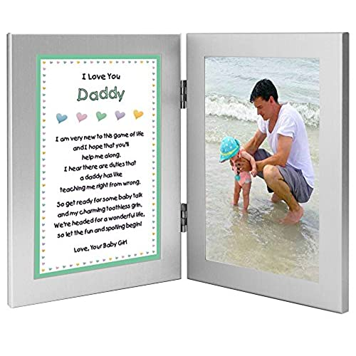 Mommy Daddy Me Frame White Solid Wooden Wall Hanging Picture